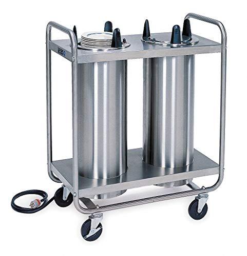 Plate Dispenser Cart, Heated, 36x18x39