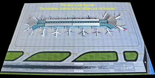 GeminiJets GEMGJAPS008 1:400 Airport Mat for Use with Gemini Jets GJARPTC Terminal (pre-Painted/pre-Built) ()