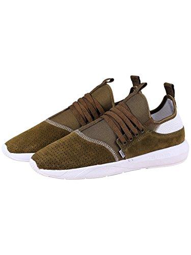 Low Perfo top Uomo 3 Olive Djinnsmoclau 0 Herren Sneaker Xqvanfg