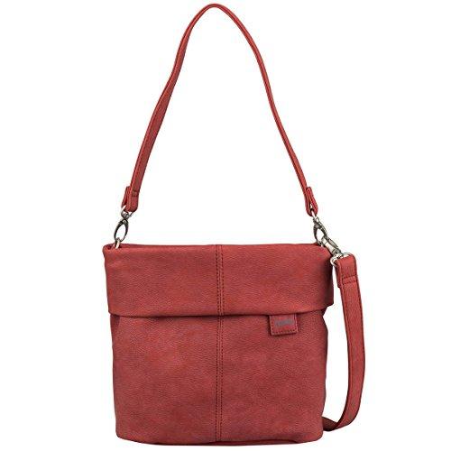 Zwei Mademoiselle M8 - Bolso para mujer (asa para hombro, 25 cm) Rojo
