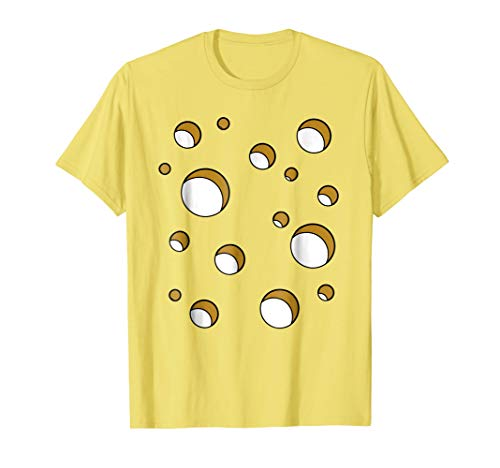 Swiss Cheese Costume Shirt Halloween Costume