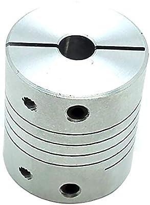 "4mm x 9.53mm Flexible Jaw Coupler CNC Shaft Spider Stepper Motor Coupling 3//8/"""