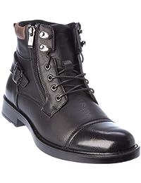 shela02 Mens Western Style Boots Dress-Shoes