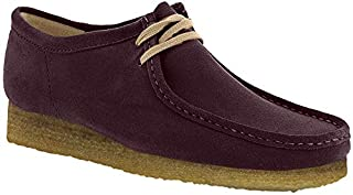 CLARKS - Mens Wallabee Shoe, Size: 11.5 D(M) US, Color: Purple Grape Nub (B072JLS1JT) | Amazon price tracker / tracking, Amazon price history charts, Amazon price watches, Amazon price drop alerts