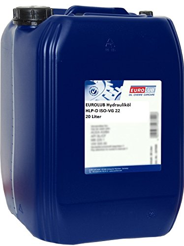 Eurolub HLP-D ISO-VG 22 - Aceite hidráulico, 20 l: Amazon.es ...