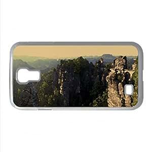 Bastei Bridge, Saxon Switzerland, Saxony, Germany Watercolor style Cover Samsung Galaxy S4 I9500 Case (Germany...