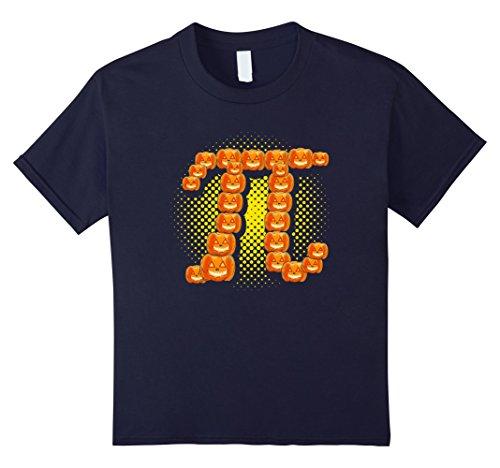 Kids Halloween Costume Pumpkin Pi T-Shirt 12 (Mathlete Halloween Costume)
