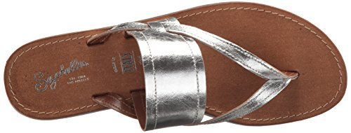 Seychelles Women's Mosaic Flat Sandal Silver sale new arrival cheap sale geniue stockist free shipping low shipping shop for sale buy cheap eastbay K9t3vB4
