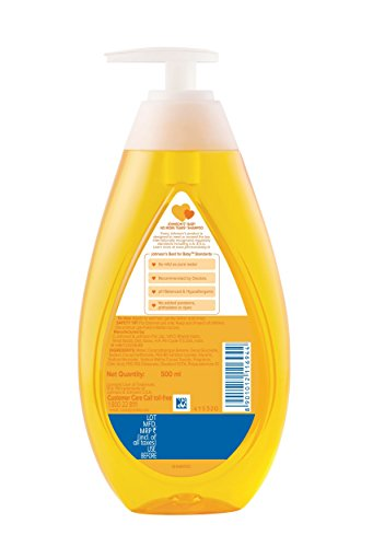 Johnson's Baby No More Tears Baby Shampoo, 500ml