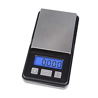 Fuzion Digital Scale, High Precision Digital Pocket Scale, Ultra Mini Design, 1000g/ 0.1g (Battery Included)