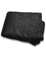 Gevoerde Verhuisdekens Premium 183 x 203 cm, ca. 520 g/m², zwart, ( Quilted Shipping Furniture Pads ))