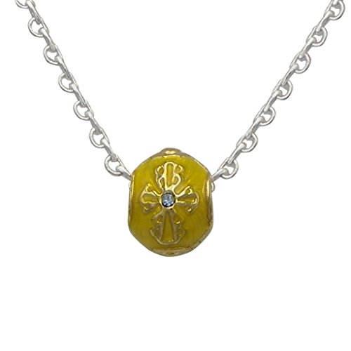 Faberge Yellow Gold Pendant - 5