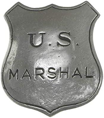 Anstecker Pin Sheriffstern U S Marshal Historische Nachbildung Made In Usa Western Country Schmuck