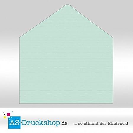 Briefumschlag Kuvert Mint Mit Seidenfutter Din C6 25 Stück