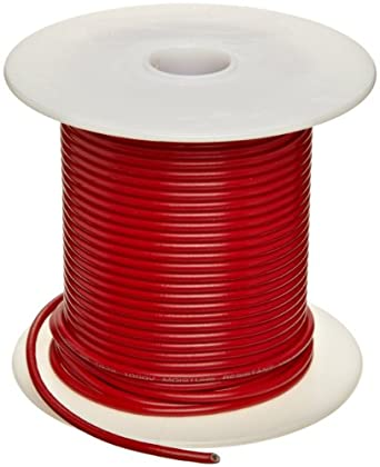 UL1015 Commercial Copper Wire, Red PVC Insulation: Electronic ...