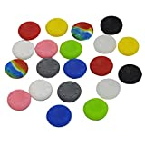 Cheap 20 x Silicone Analog Controller Thumb Stick Grips Cap Cover for Sony Play Station 4 PS4 Game Accessories Replacement Par