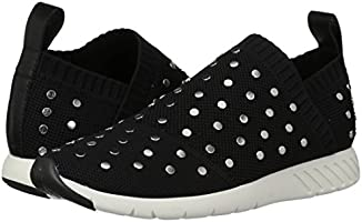 714c5442cf04e Dolce Vita Women's Bruno Sneaker, Black Knit, 7.5 Medium US: Amazon ...