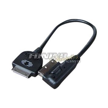iPhone Kabel Adapter Stecker AMI MMI 2G 3G für Audi Media Interface Steuerung
