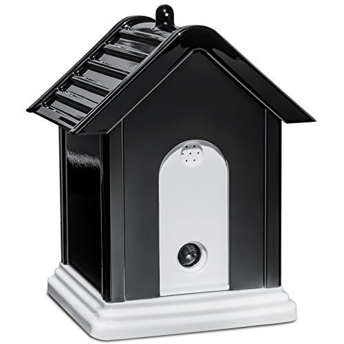 (Paws & Pals Stop Dog Barking Ultrasonic Anti Bark Off Limiter Birdhouse Box Silencer Controller Device for)