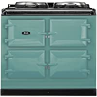 AGA ADC3G Dual Control 39 Inch Wide 4.26 Cu. Ft. Slide In Dual Fuel Range with S, Pistachio