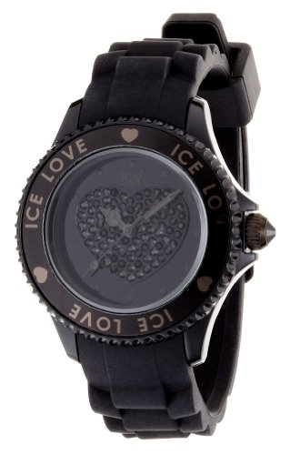 Ice-Watch – Ice-Love collection – Unisex 43mm – Black