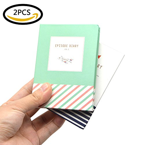 Sticky Notes, izBuy 2-in-1 Notepad Kit with Rainbow Index Tabs,Lace Surrounded Leaflets,Hard Shell Wrapped Episode Diary for Girls Student,Palm Size Random Pattern,Ball Pen Included,A1274 (2 pcs) (Wave Stenograph Machine compare prices)