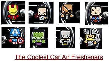 Marvel Justice League Batman Auto Lufterfrischer Drogerie Körperpflege