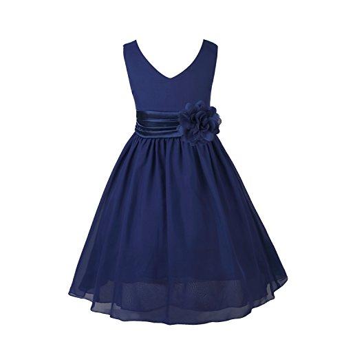 lavender and blue wedding dress - 8