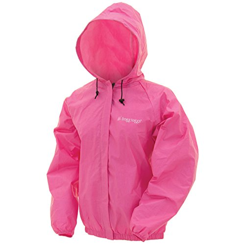 Frogg Toggs Women's Ultra-Lite 2 Jacket, Small, Pink