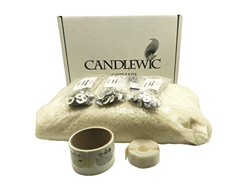 10 lb. Soy Wax, Wicks, Glue Dots and Burning Instructions by Candlewic (Image #9)