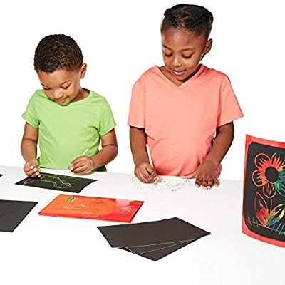 Melissa & Doug Scratch Art Deluxe Combo Set: Melissa & Doug: Toys & Games