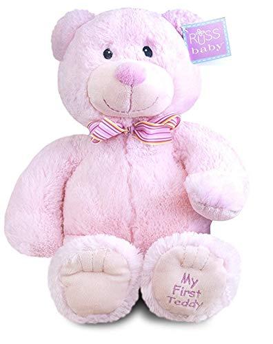 (Russ My First Teddy Bear Pink)