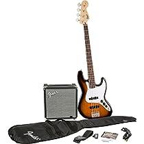 Fender Squier J Bass Guitar Pack - Sunburst