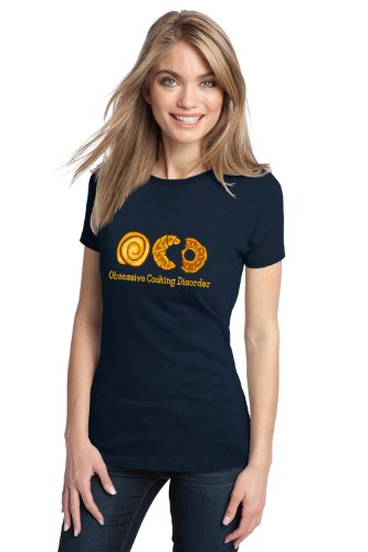 OCD: OBSESSIVE COOKING DISORDER Ladies' T-shirt / Funny Cook, Baking Humor Tee