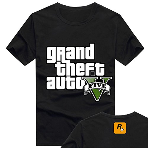 GTA T-Shirt Game Inspired Clothing Top Cosplay Costume