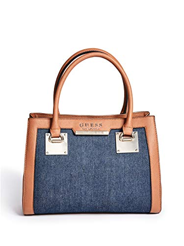 GUESS Factory Women's Dustin Denim Satchel