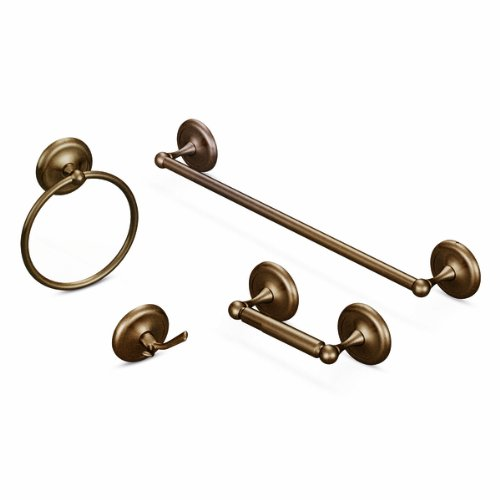 Moen BP5303OWB Yorkshire Robe Hook, Old World Bronze (Old World Bronze Faucet)