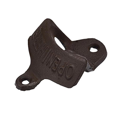 Aobiny Beer Tool, 10Pcs Rustic Cast Iron Open Here Wall Mounted Beer Bottle Opener Soda by Aobiny (Image #5)
