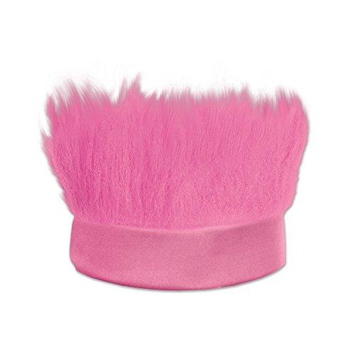 Beistle Hairy Headband, Pink