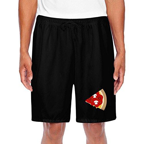 BENZIMM Men's Pizza's Love Shorts