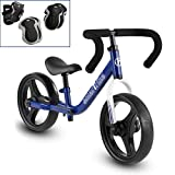 smarTrike Folding Balance Bike with Safety Gear for 2-5 Years Old