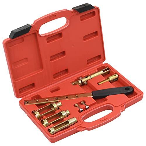 vidaXL 8 piece Valve Spring Compressor Set Tool Sets Tool Kits Valve Tool Engine Tools Valve Spring Compressor with Overhead Camshafts: