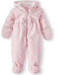 1da9a9ce0 Child of Mine Baby Girls Hooded Puffer Pram Snowsuit
