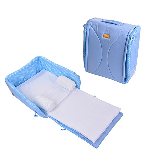 Per Portable Infant Bed Foldable Changing Station With Pillow For Travelling by Per
