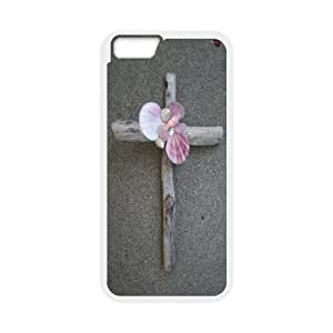 """J-LV-F Cover Shell Phone Case Jesus Christ Cross For iPhone 6 Plus (5.5"""")"""