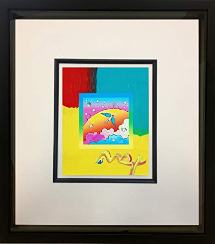 Peter Max, Angel Clouds on Blends #403