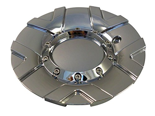 Moz Wheels PD-CAPSX-P5117 Chrome Custom Wheel Center Caps (Set of 4) (Moz Wheels)
