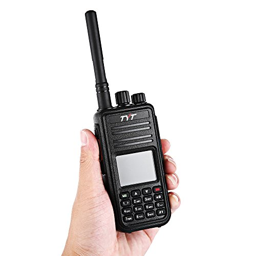 Joyhero TYT Tytera MD-380 DMR Digital Radio,400-480UHF, Up to 1000 Channels, with Color LCD Display, Programming Cable and 2 Antenna (High Gain Antenna in cluded), Black ¡ by TYT (Image #4)
