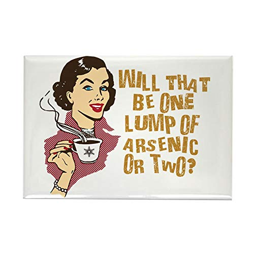 Magnet Funny Rectangle Magnet - CafePress Funny Retro Coffee Humor Rectangle Magnet, 2