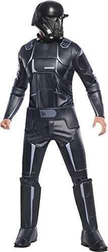Rogue One: A Star Wars Story Men's Deluxe Death Trooper Costume, Multi, -